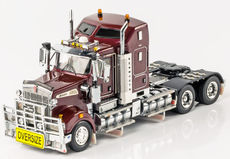 KENWORTH T909 PRIME MOVER (burgundy)  Very detailed