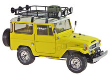 TOYOTA 1967 LANDCRUISER FJ40 HARDTOP (yellow)  detailed model