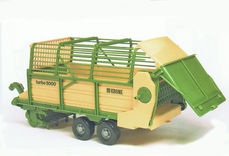 KRONE TURBO 5000 FORAGE TRAILER for BR tractors