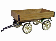 WILESCO 4 WHEEL TRAILER for STEAM LORRY (WD 320)