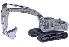 HITACHI Z-axis 210 EXCAVATOR    25th Anniversary edition - silver finished