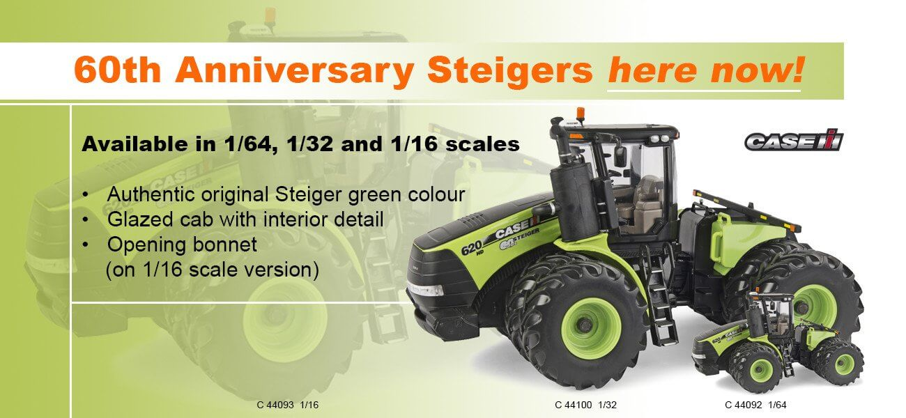 Case IH Steiger 620 60th anniversary - Collector Models