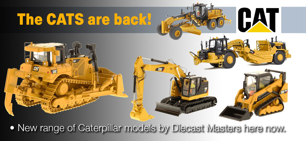 Caterpillar scale models - Collector Models