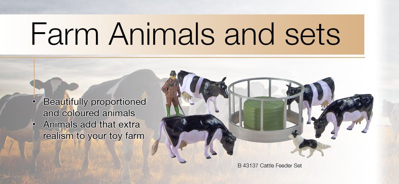 Farm animal figurines - Collector Models