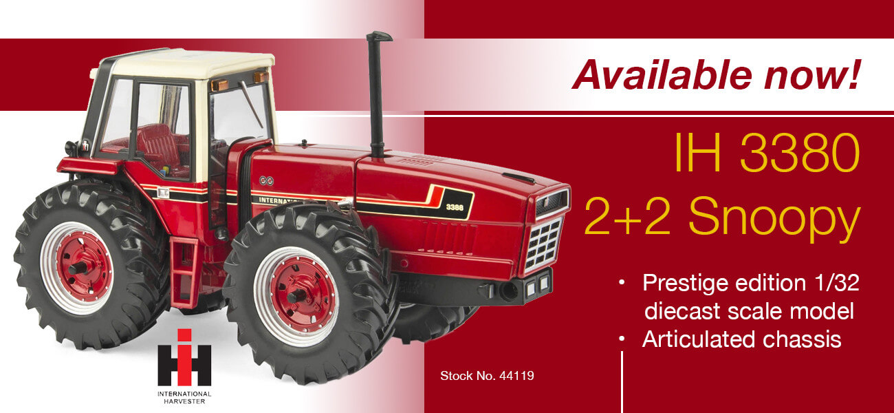 IH 3380 Snoopy model tractor - Collector Models