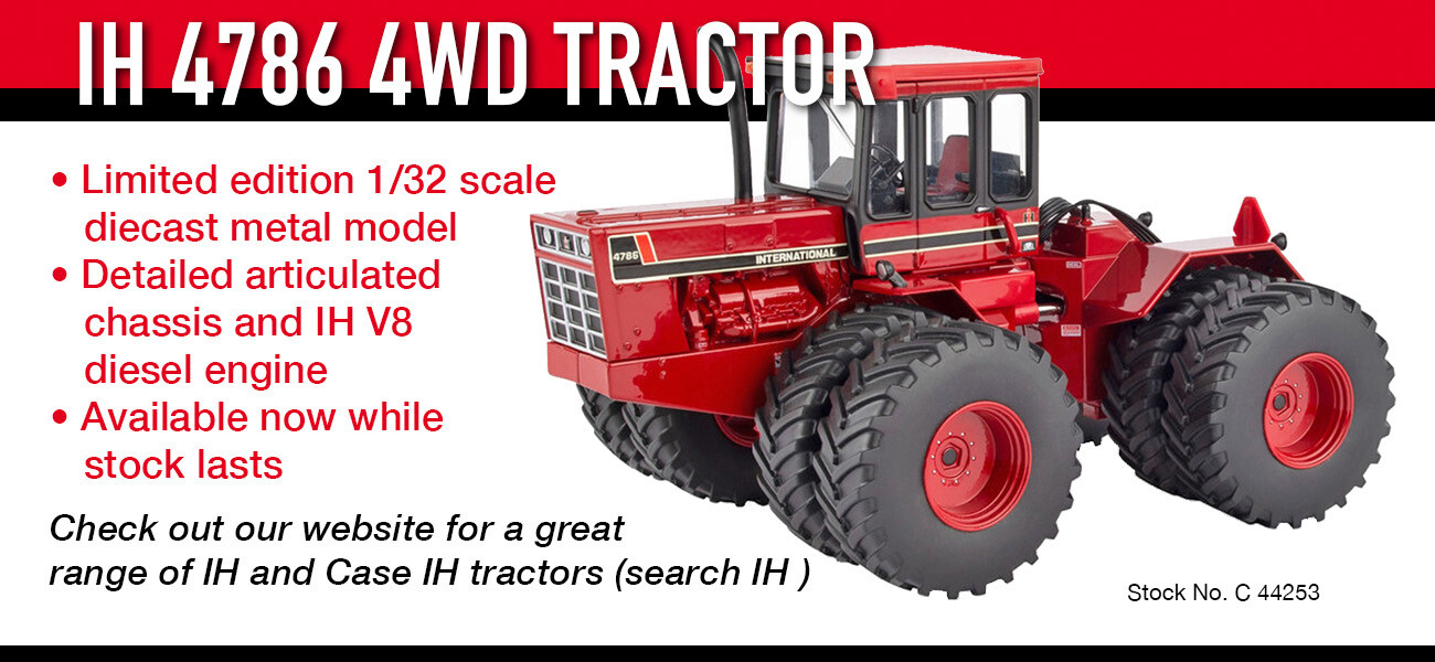 IH 4786 4WD tractor