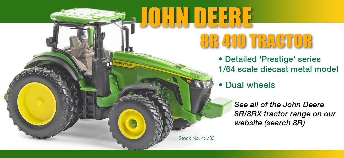 John Deere 8R tractor