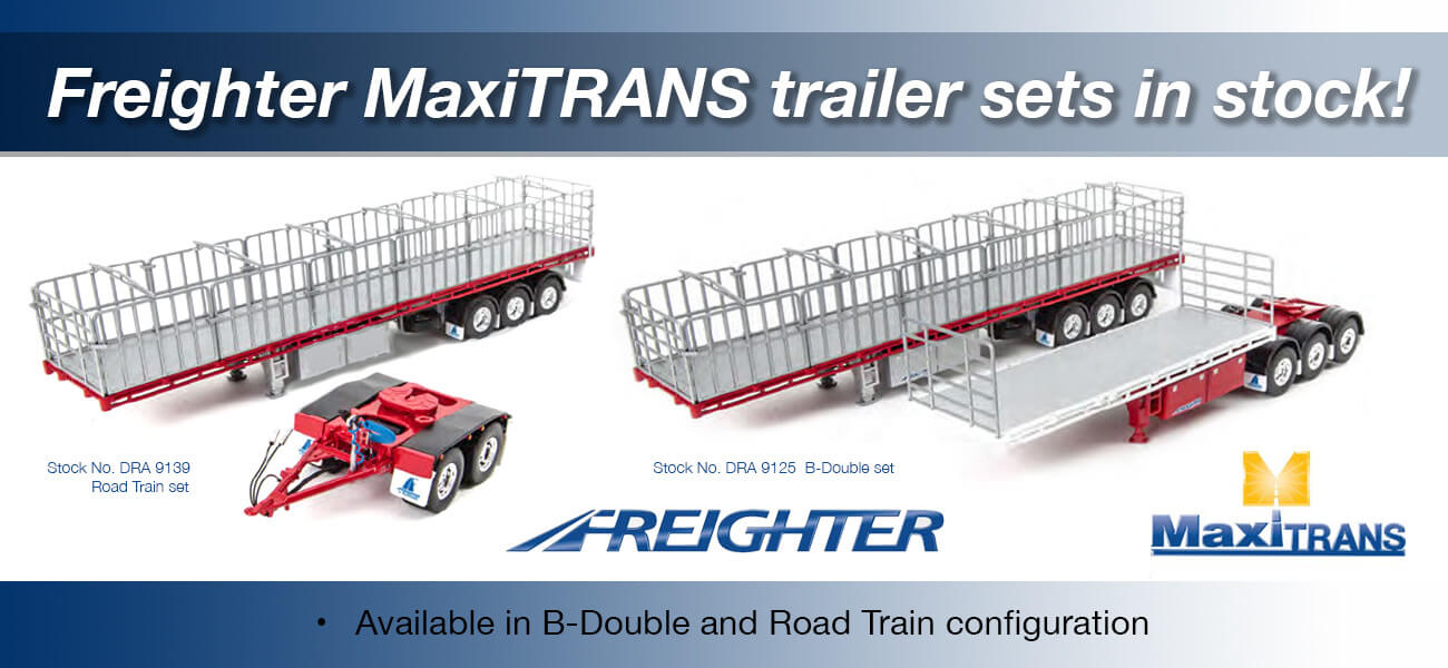 MaxiTRANS trailer sets - Collector Models