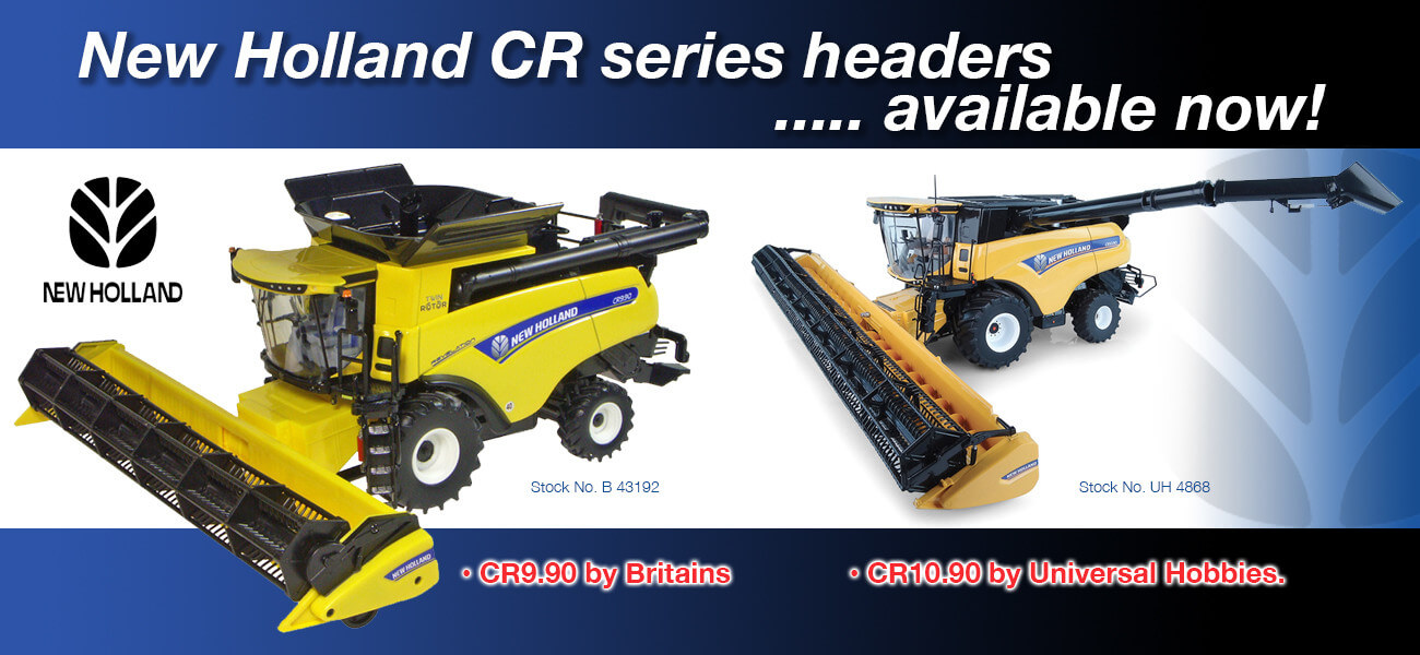 New Holland headers - Collector Models