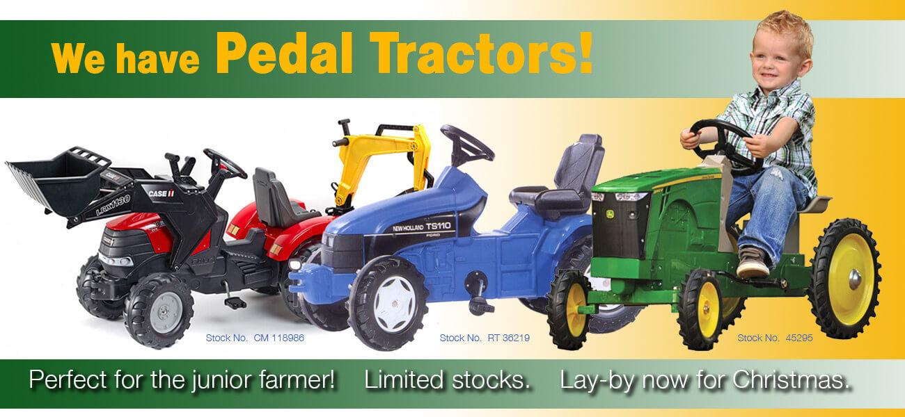 Pedal Tractors - Collector Models